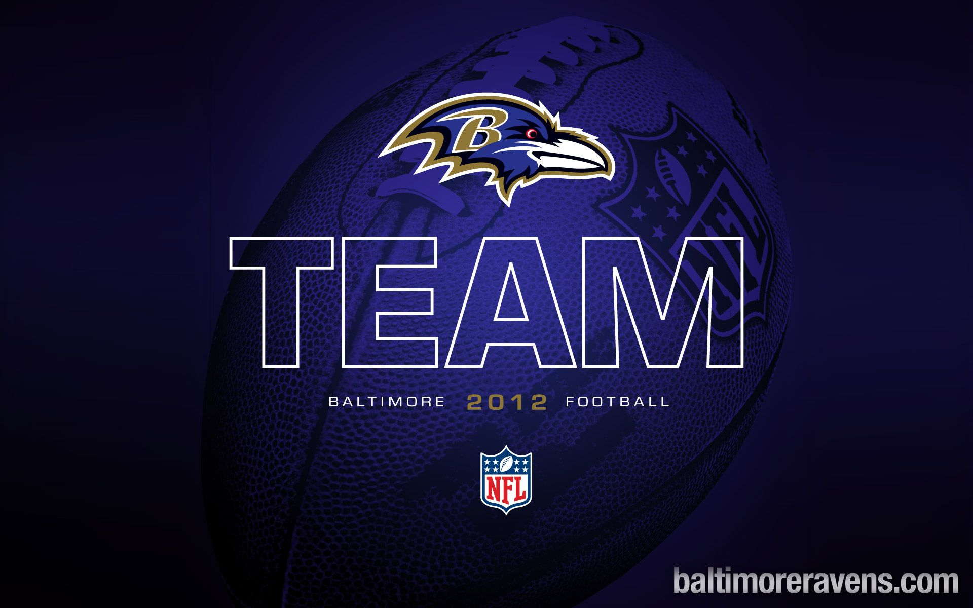 Announcing The 2012 Baltimore Ravens Nfl football