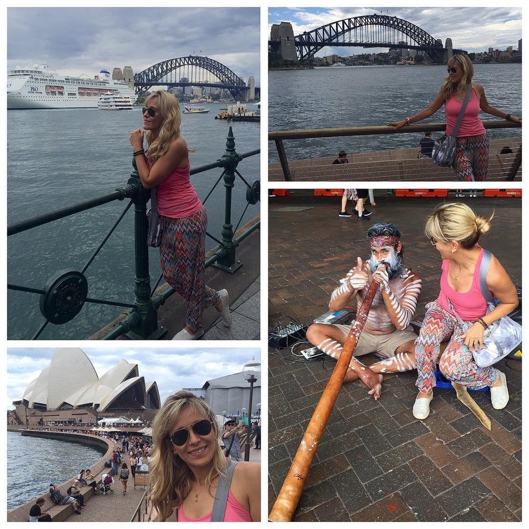 Walking around the #sydneyharbour. What a great walk #sydneyharbourbridge #operahouse #aboriginal #celebration #califestyle #worldtraveler #calilife #sydneyoperahouse - by nadias.travels http://ift.tt/1NRMbNv