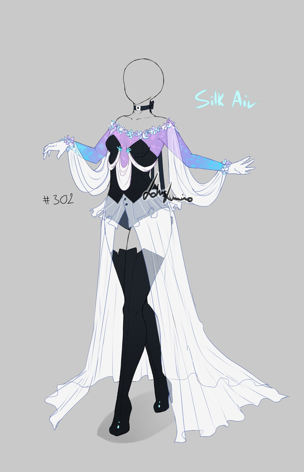 Outfit design - 302 - ends in 1 hour !! by LotusLumino on DeviantArt