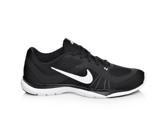 1a959d47cc116 Women s Nike Flex Trainer 6 Black White