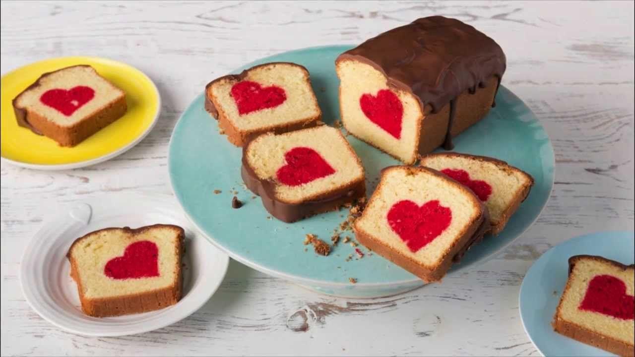Ruhrkuchen Mit Herz Surprice Inside Cake Patch Cake