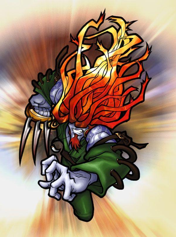 FF9 - Flaming Amarant by thekeet