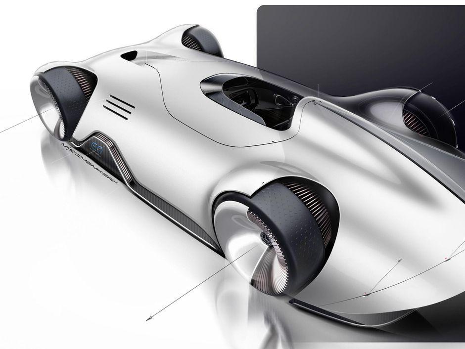 Mercedes Benz Eq Silver Arrow Concept The Rekordwagen Of The Future Mercedes Benz Benz Mercedes