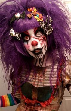 Scary Clowns Evil Clowns Creepy Costumes Women Clown Costume Halloween Costumes Spx Makeup Halloween Makeup Halloween Ideas Halloween Party Supplies & Pin by Jennifer maddux on Halloween 3 | Pinterest | Halloween ideas ...