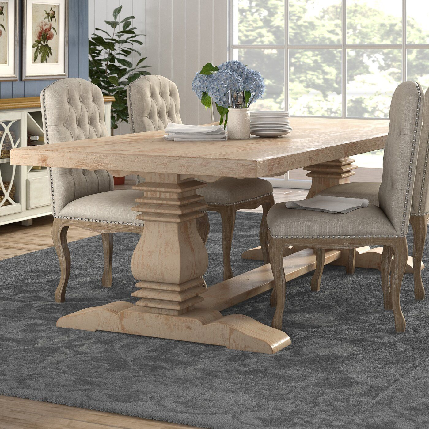 Zigler Dining Table In 2020 French Country Dining Room Dining Table Dinning Room Tables