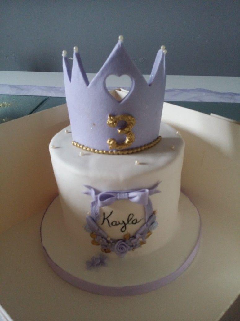 Gâteaux d'anniversaire aux couleurs de princesse Sofia pour ma petite Kayla