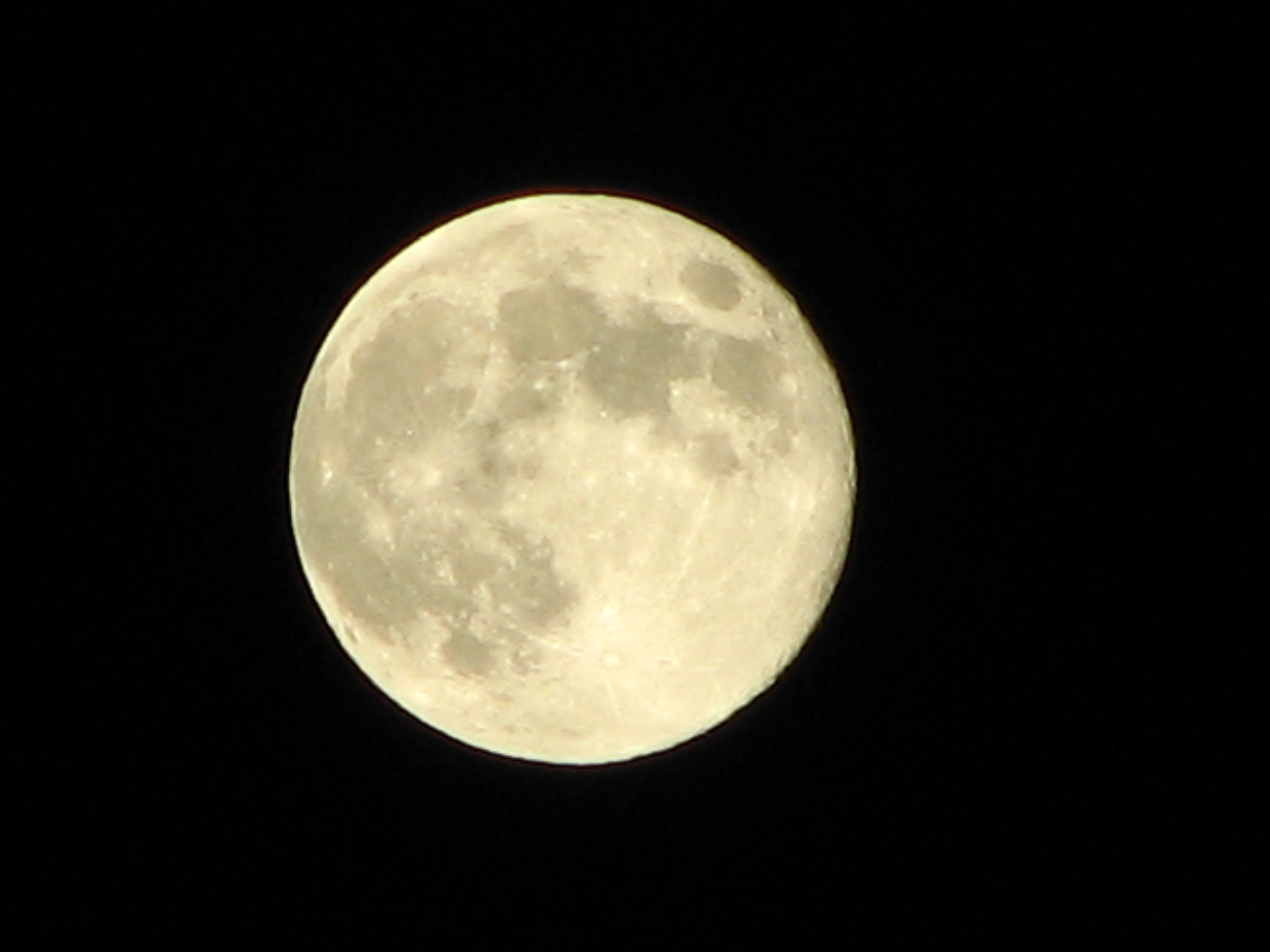 """in my head I'm singing the song """"Blue Moon"""" - it is indeed exceptionally bright and beautiful!"""