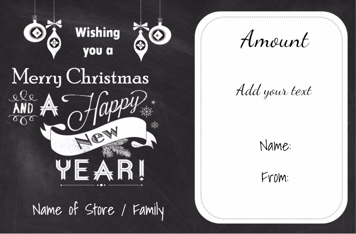 Christmas gift certificate template 201g 1169771 christmas free printable christmas gift certificate templates which can be customized with your own text yelopaper Images