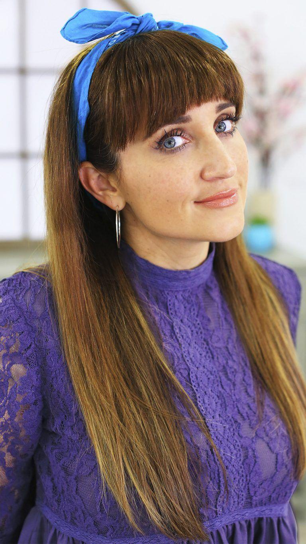 Fake bangs cute girls hairstyles fashion muses want list