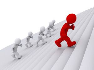 Practising the art of leadership - leading from the middle. Read more about this topic in this blog post