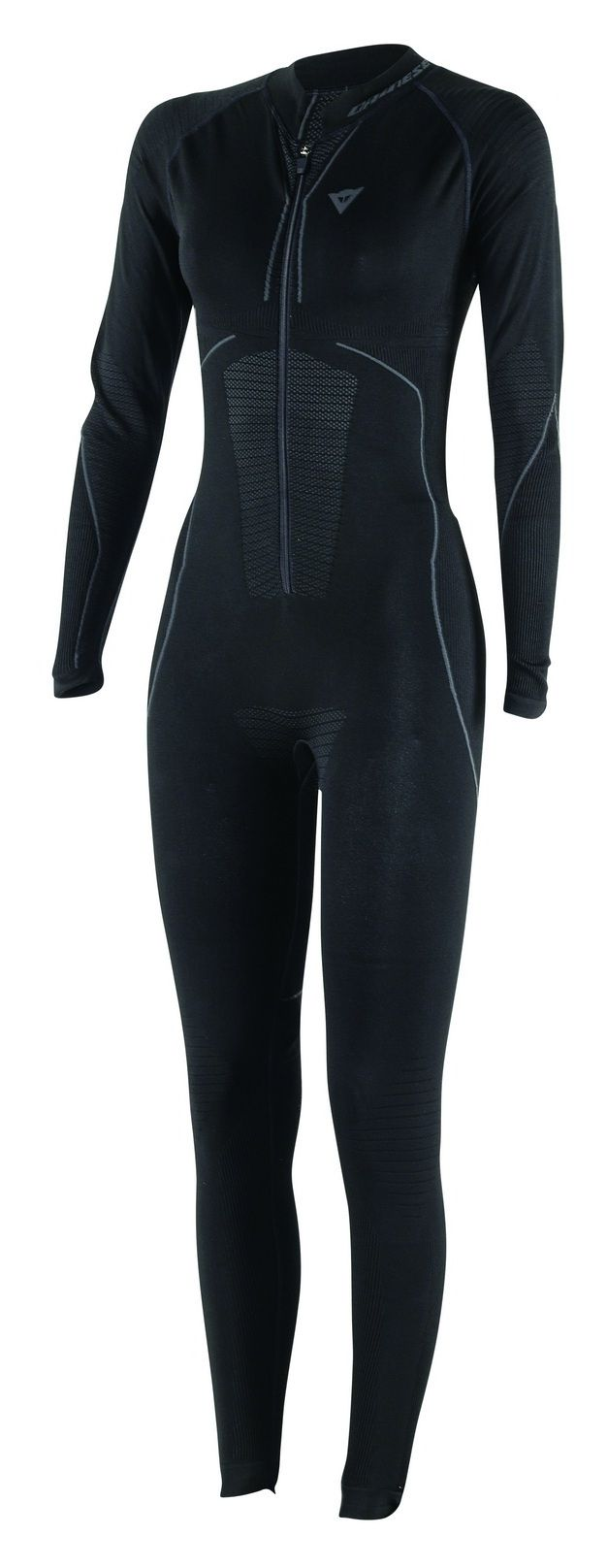 Constructed of environmentally friendly materials and without seams for year round riding comfort, the Dainese Women's D-Core Dry Suit wicks away moisture an...