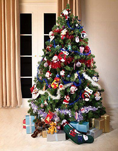 green colorado fir luxury artificial christmas tree 65 ft tall 195cm modern stylish contemporary quality xmas - 65ft Christmas Tree