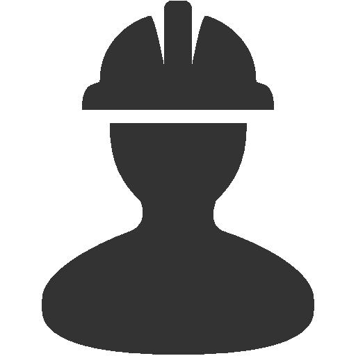 Construction Worker With Helmet Free Icon Dizajn