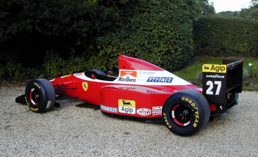 RaceCarAds - Race Cars For Sale » FERRARI F1 93 A for sale ...