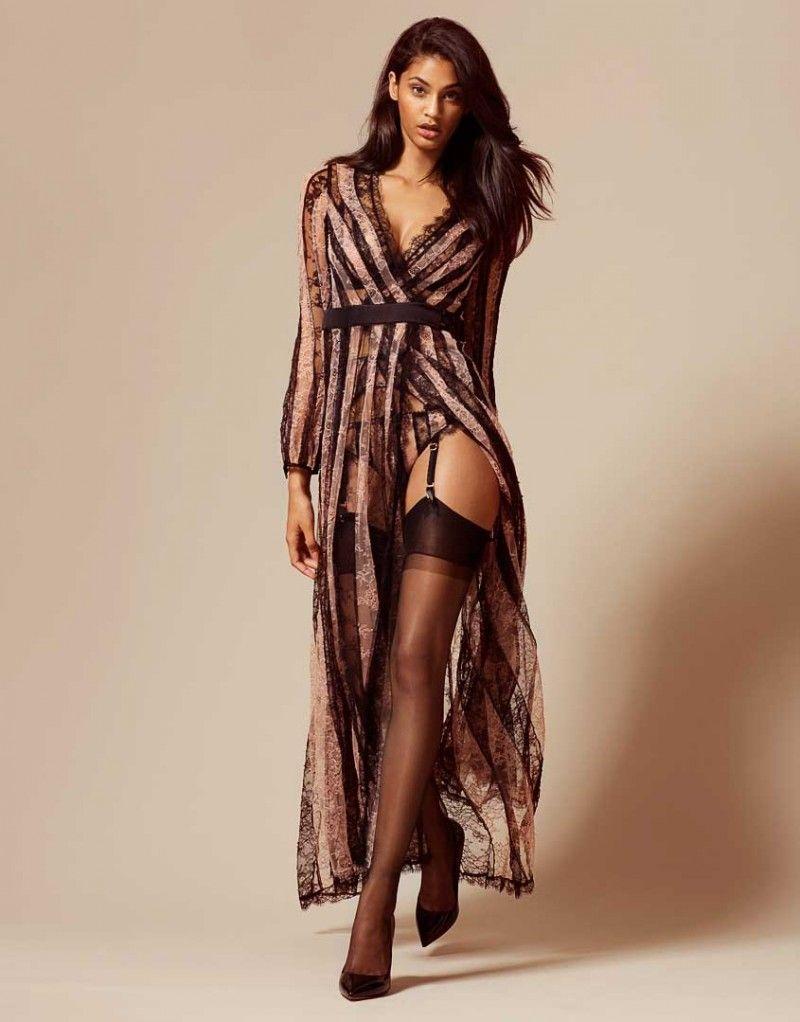 e7dab365d6 Saffi Gown In Black   Nude