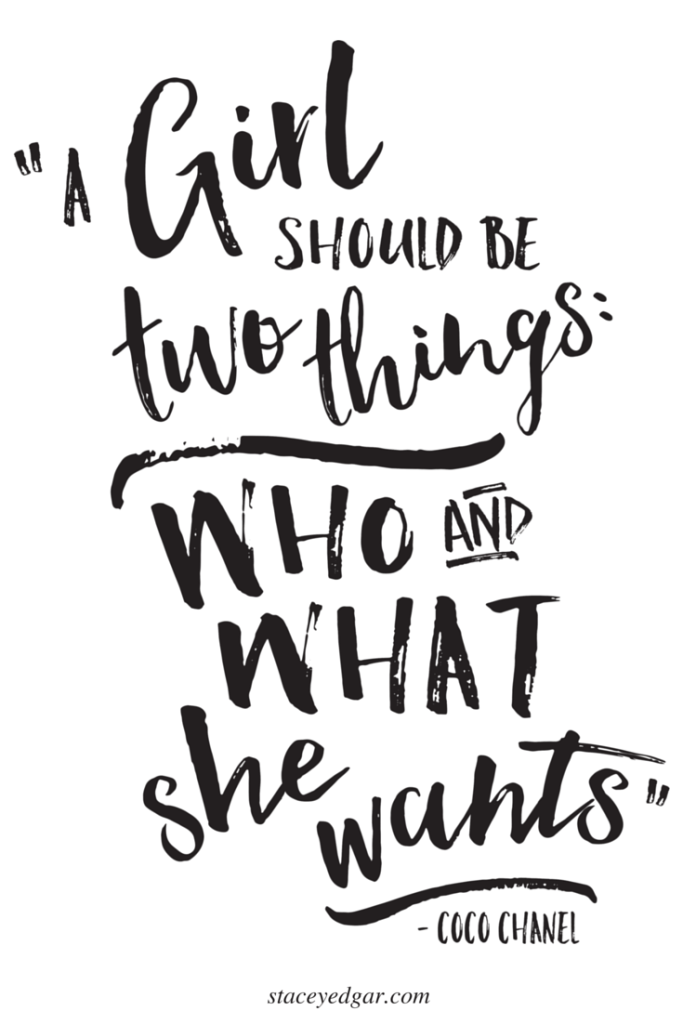 Girl Power Quotes Inspiration A Girl Should Be Two Things  Who And What She Wants  Pin  100