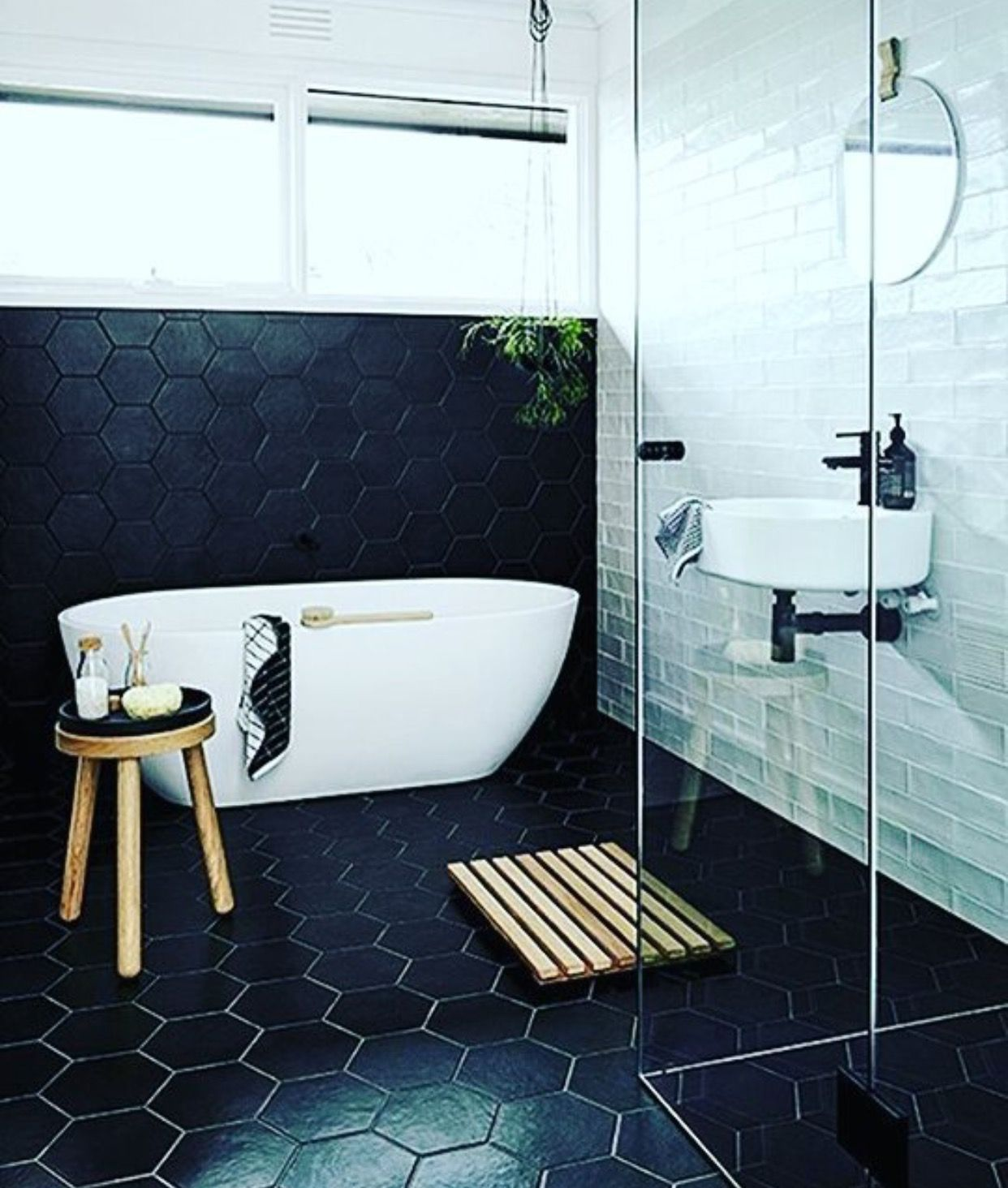 Hexagon style | Home | Master Bath | Pinterest | Interiors, House ...