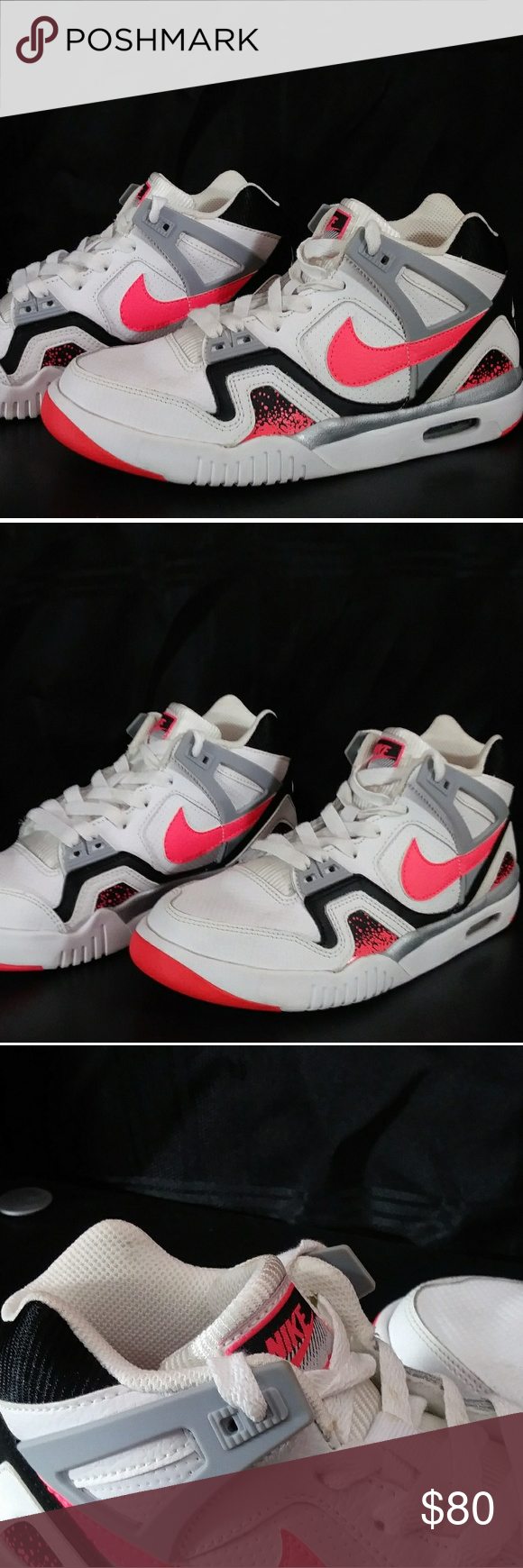 NIB! Nike Air Tech Challenge 2 Wht/Pink Size 4.5Y New in