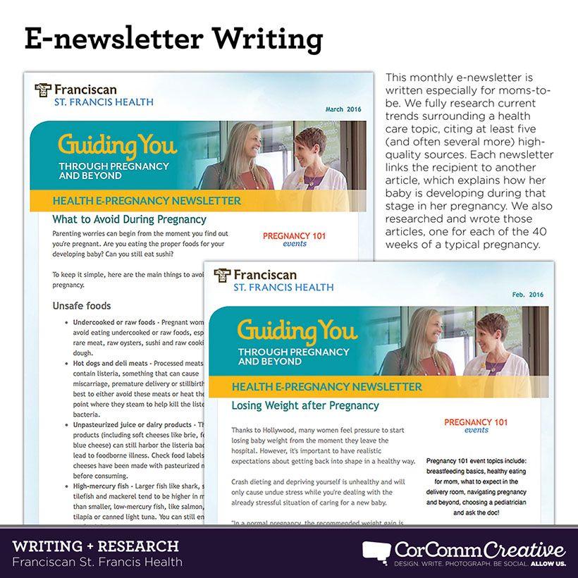 Creative llc portfolio health care writing