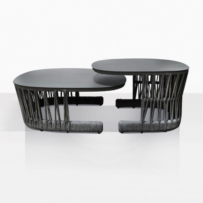 Fabulous Portofino Coffee Table Outdoor Furniture Lighting In Creativecarmelina Interior Chair Design Creativecarmelinacom