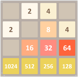 2048 Game Version For Excel 2048 Game Games Excel