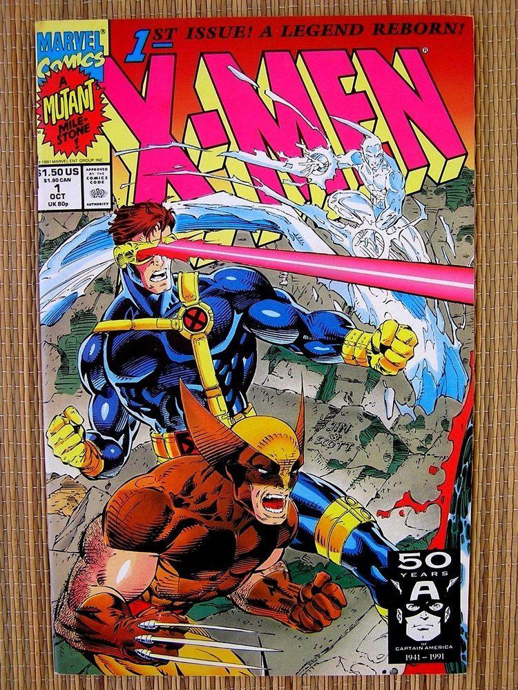 Collecible Marvel Comics X Men 1st Issue A Legend Reborn Oct 1 1991 Https Ebay To 2aoj67t Marvel Comics Vintage Marvel Comics Covers Comics