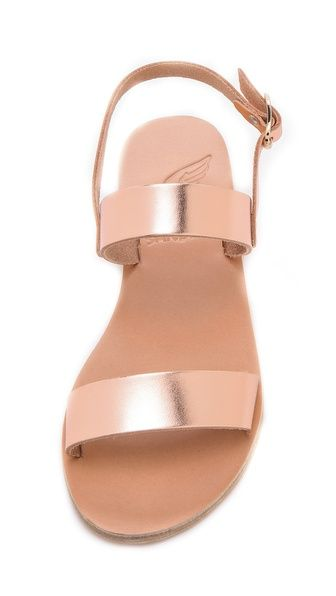 925ed324ae52 Ancient Greek Sandals Clio Metallic Sandals
