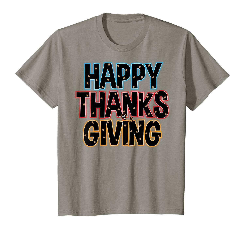 Happy Thanksgiving Costume Funny Thankful Turkey Gift TShirt  Happy Thanksgiving Costume Funny Thankful Turkey Gift TShirt