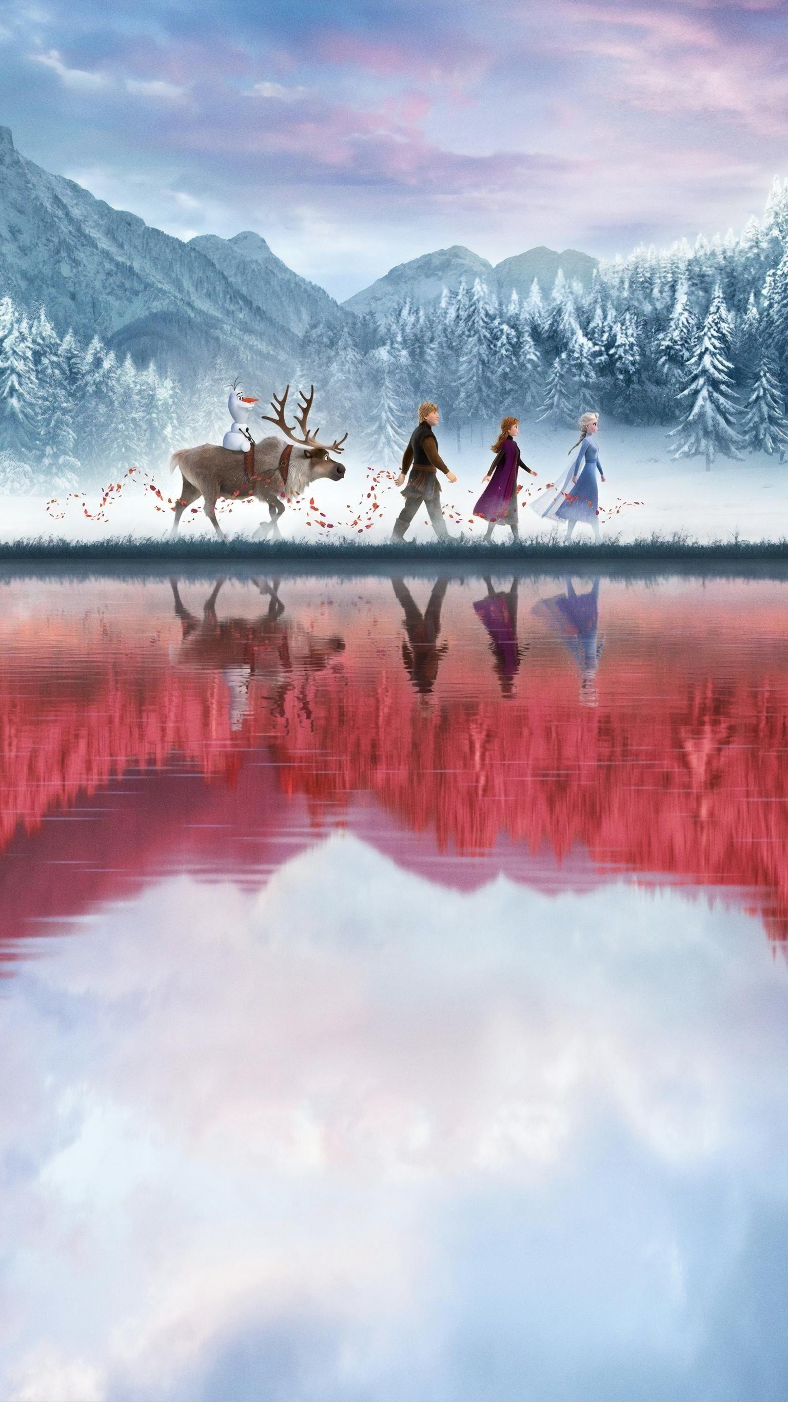 Photo of Frozen II (2019) Telefon Wallpaper | Moviemania