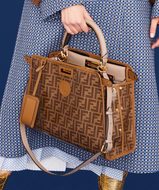 c7f061a68 Fendi Resort 2019 Bags: Zucca Deluxe   Baglicious   Bags, Fendi, Fashion