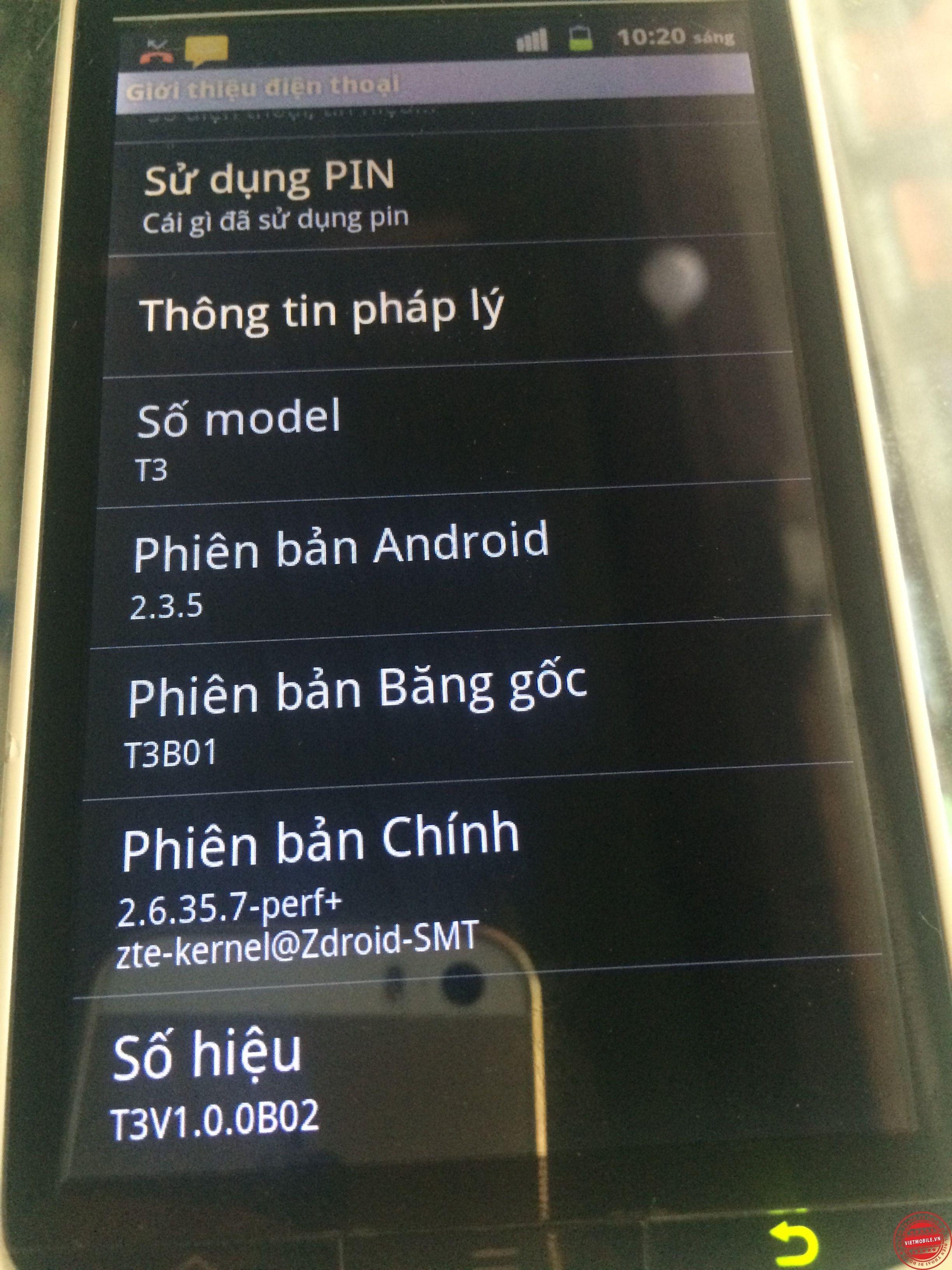 Taiwan mobile T3 gọi hồn có tiếng Việt Xem thêm http