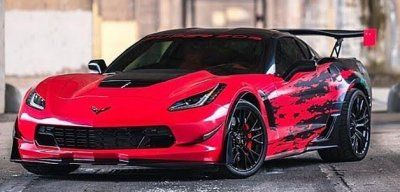 C7 Corvette Apr Gtc 500 Adjustable Wing Super Cars Cool Sports