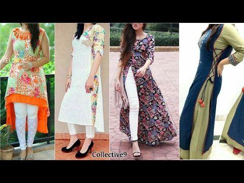 652be0a1ce Top Beautiful Designer Kurta/Kurti Designs 2017 - YouTube | Pe ...