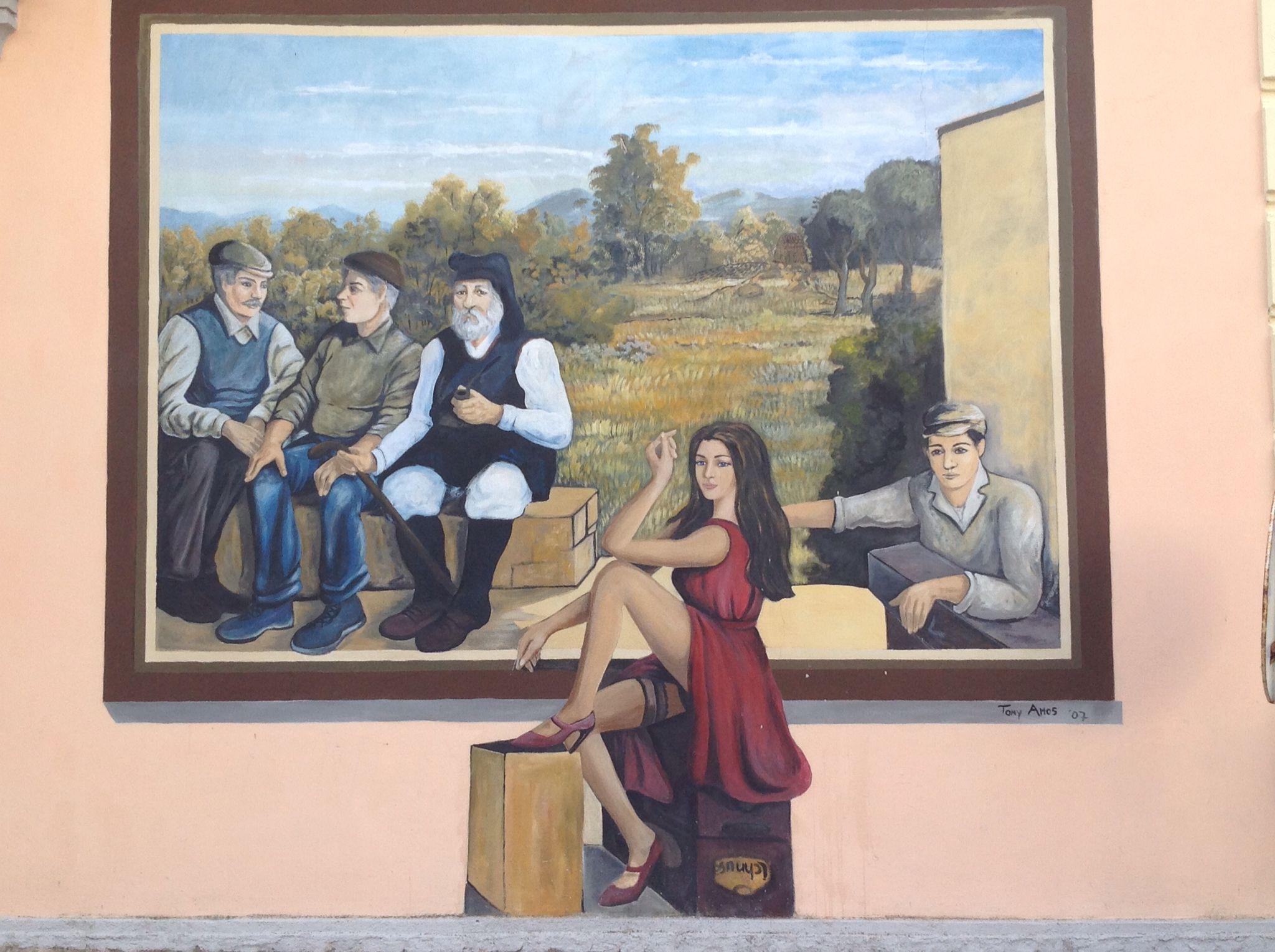 Murale a Romana (SS)