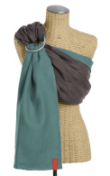 Essential Linen Baby Sling :: Driftwood~Mint These look so nice, Such a pretty color too!