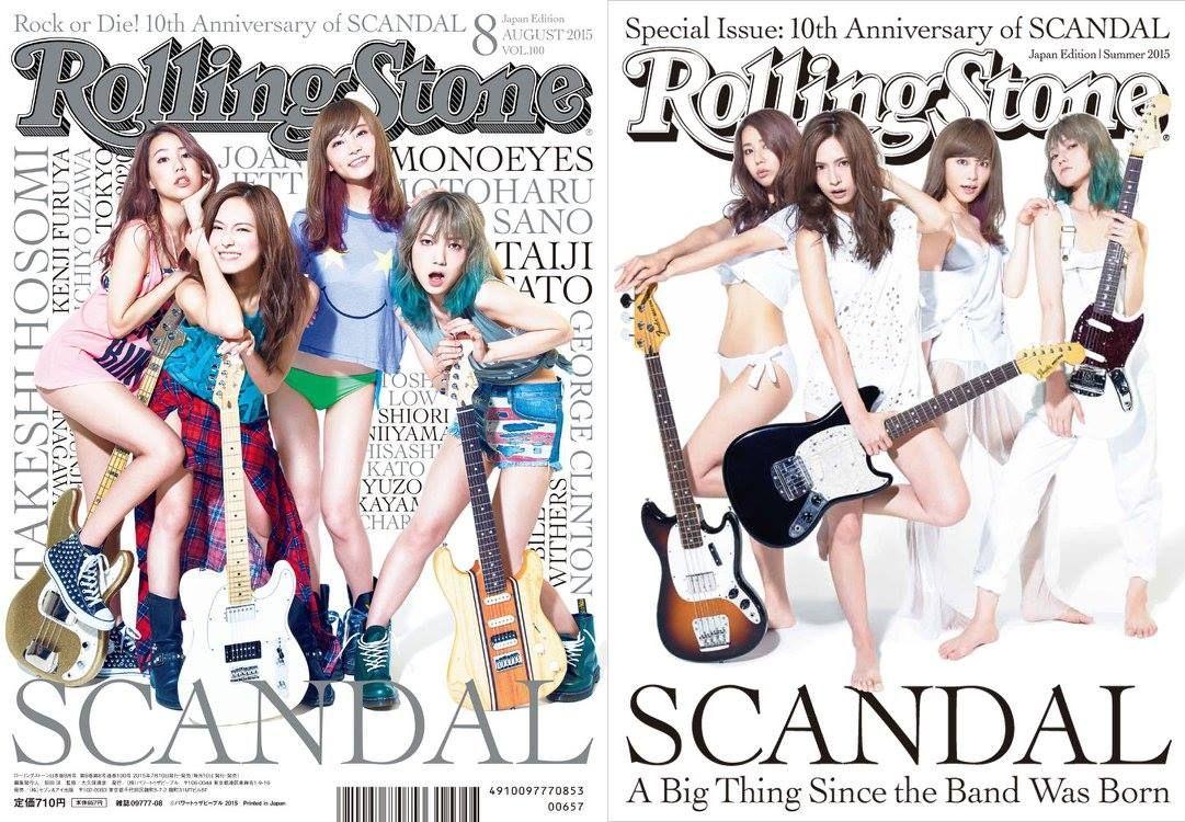 SCANDAL - Rolling Stone Magazine