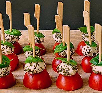 Fingerfood Spieße 3 einfache Rezepte und 70 köstliche Ideen zu Händen jeden