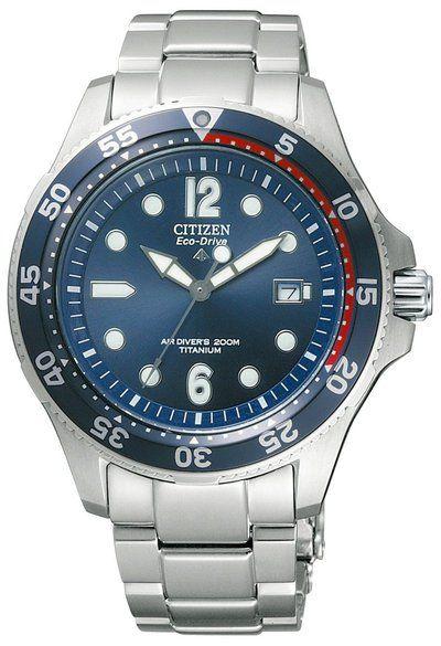 91acac7e904 Citizen Promaster Marine PMX56-2812 Titanium 200m Diver s Eco-Drive Dive  Watch