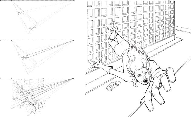 Using Perspective And Cartoon Style Drawing Together How To Draw