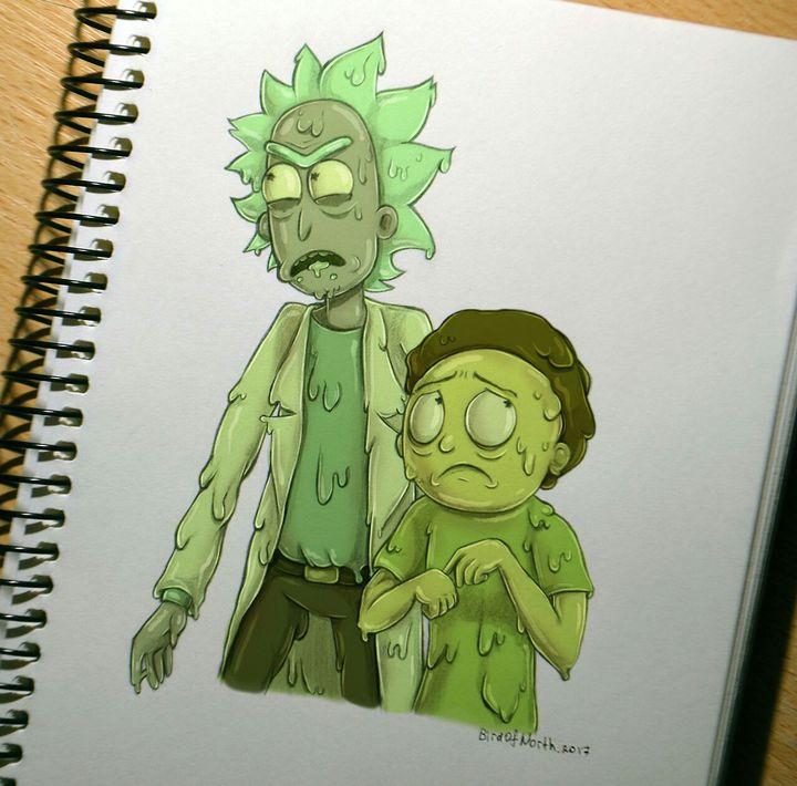 Imagenes Rickorty Rick Cest Rick Y Morty Toxic Rick And Morty Drawing Rick And Morty Characters Morty