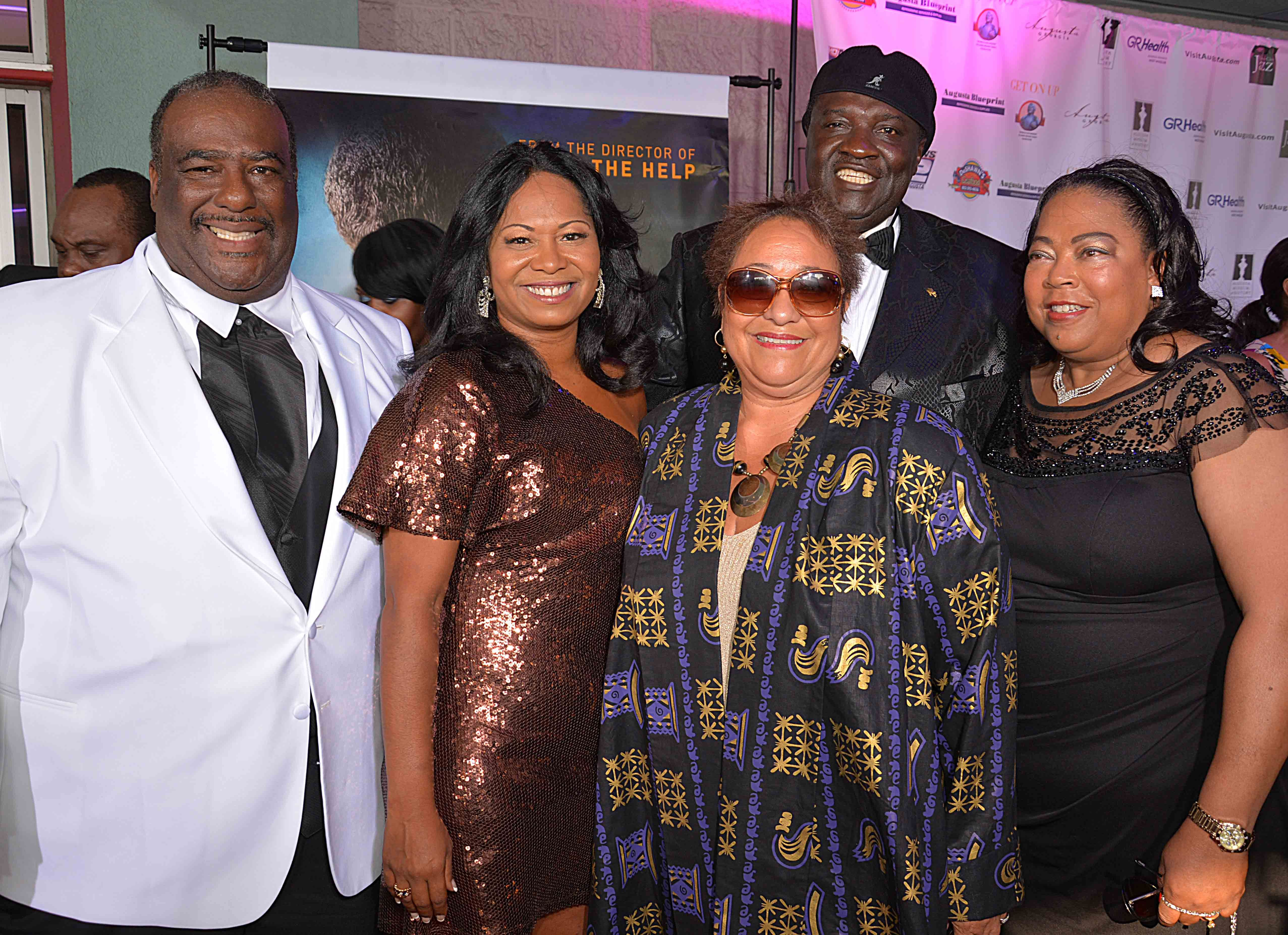 """Augusta Premiere """"Get On Up"""" The James Brown Story"""