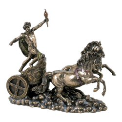Apollo On Chariot Statue - WU-1154 by Medieval Collectibles