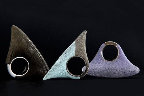 Yoko Izawa - veiled rings (exhibition « Finger symbols » 2010)