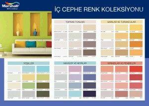 Boya Katalogu Boya Renkleri Renkler Dekorasyon Fikirleri