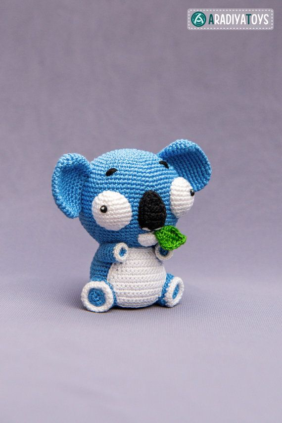 Crochet Pattern of Koala Noah from AradiyaToys Design por Aradiya