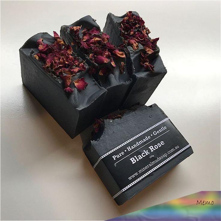 Black Rose #artisansoap  #madeinmelbourne  #madebyme  #australianmade  #activatedcharcoal #rose #handmade  #handcrafted
