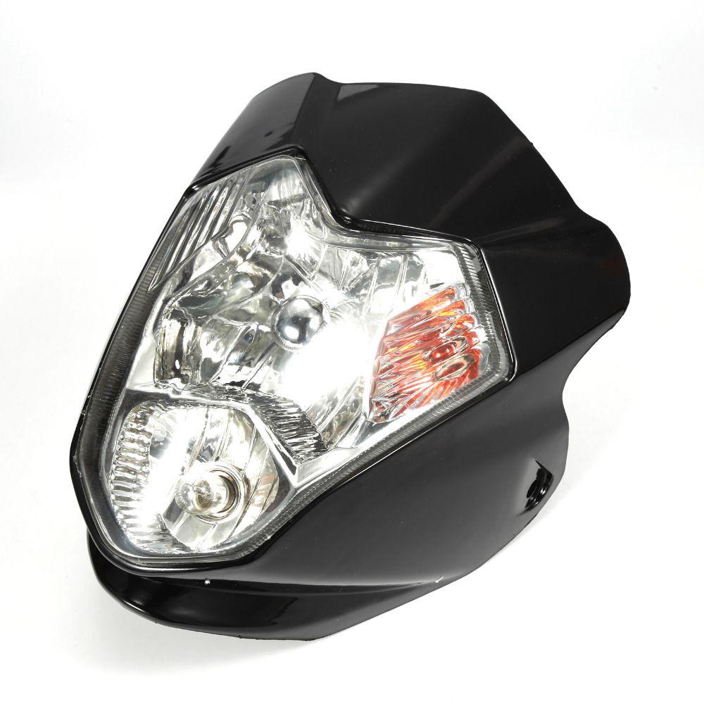 Brand New Headlight LED Lamp For Motorcycle Bike Fairing