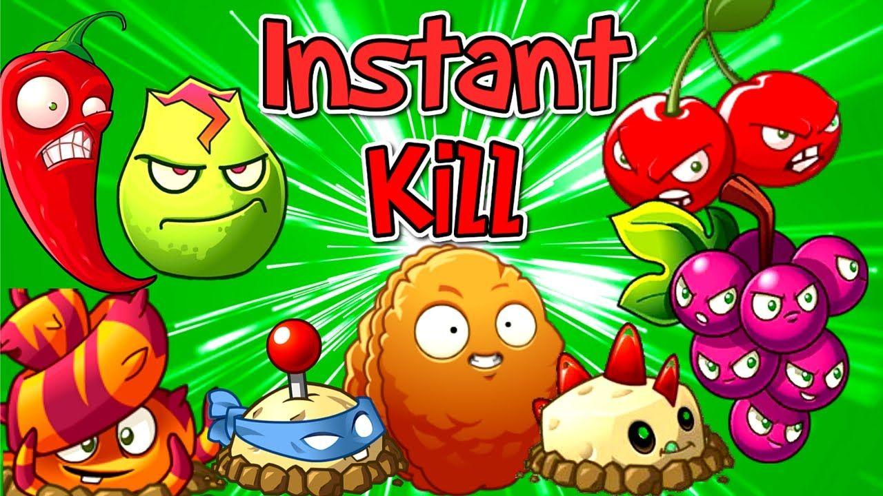 Plants Vs Zombies 2 Instant Kill Plants Challenge Plantas Contra Zombies 2 Zombie 2 Zombie Plants