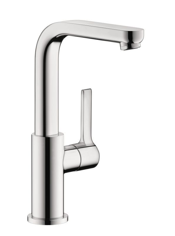Hansgrohe Metris S Single Hole Bathroom Faucet With EcoRight - How to clean chrome bathroom faucets