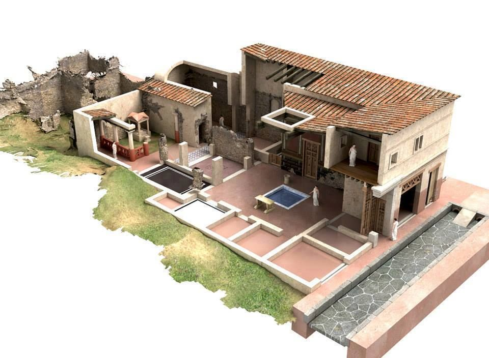 The house of diana pompeii ancient rome pinterest for Galileo quiz casa